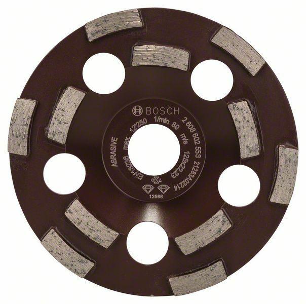Diamantový hrncový kotouč Expert for Abrasive - 125 x 22,23 x 4,5 mm - 3165140578844 BOSCH