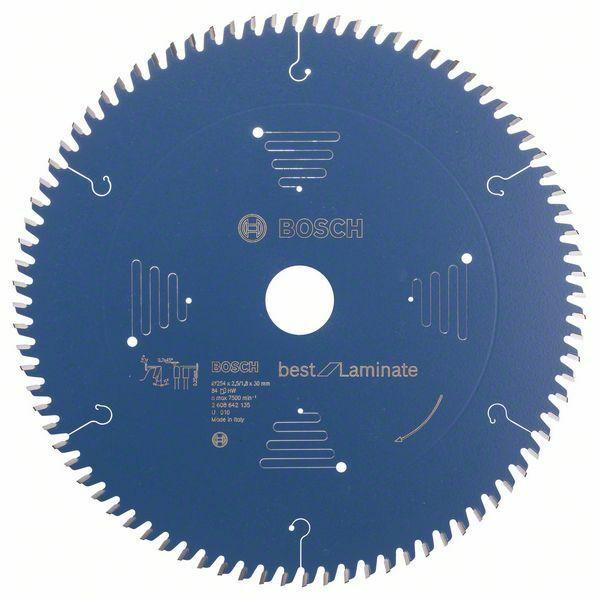 Pilový kotouč do okružních pil Best for Laminate - 254 x 30 x 2,5 mm, 84 - 3165140579575 BOSCH