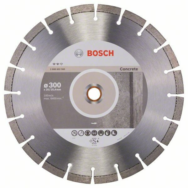Diamantový dělicí kotouč Expert for Concrete - 300 x 20,00+25,40 x 2,8 x 12 mm BOSCH