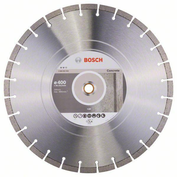 Diamantový dělicí kotouč Expert for Concrete - 400 x 20,00+25,40 x 3,2 x 12 mm BOSCH
