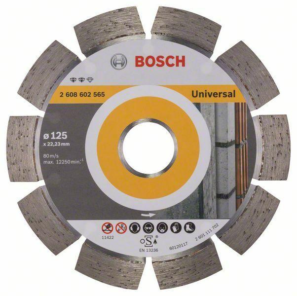 Diamantový dělicí kotouč Expert for Universal - 125 x 22,23 x 2,2 x 12 mm - 3165140580717 BOSCH