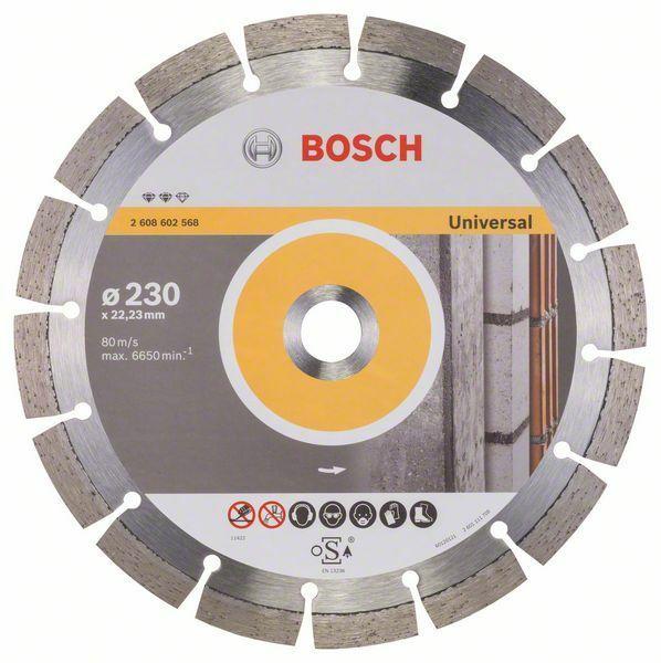 Diamantový dělicí kotouč Expert for Universal - 230 x 22,23 x 2,4 x 12 mm - 3165140580748 BOSCH