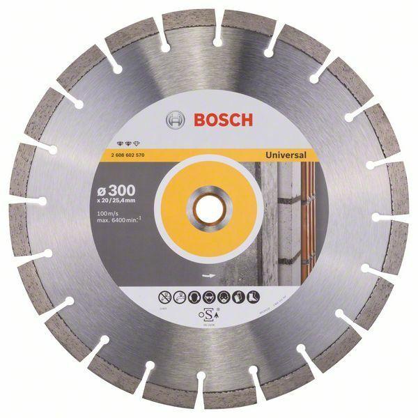 Diamantový dělicí kotouč Expert for Universal - 300 x 20,00+25,40 x 2,8 x 12 mm BOSCH