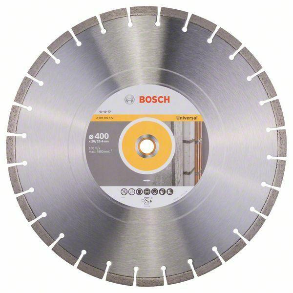 Diamantový dělicí kotouč Expert for Universal - 400 x 20,00+25,40 x 3,2 x 12 mm BOSCH