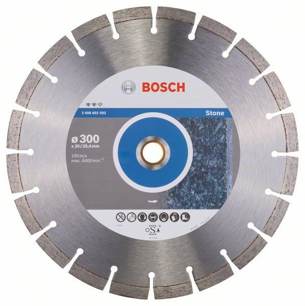 Diamantový dělicí kotouč Expert for Stone - 300 x 20,00+25,40 x 2,8 x 12 mm BOSCH