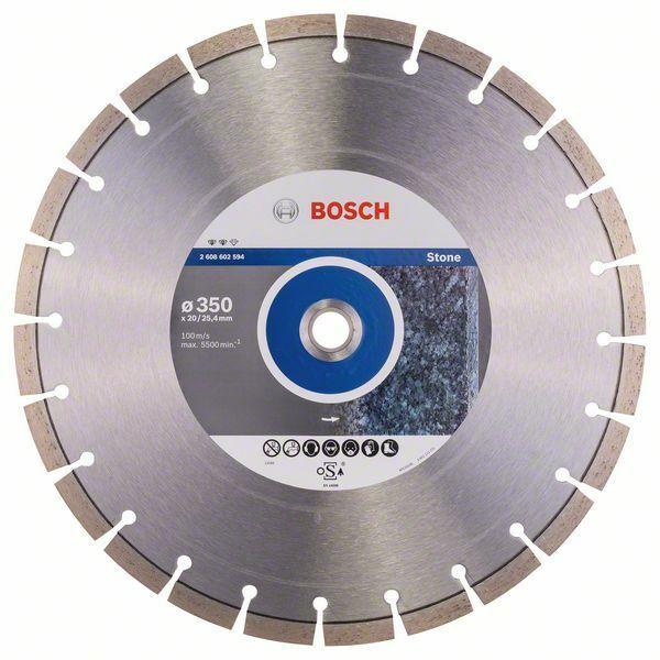 Diamantový dělicí kotouč Expert for Stone - 350 x 20,00+25,40 x 3,2 x 12 mm BOSCH