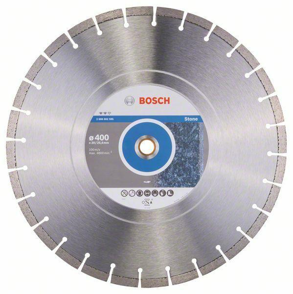 Diamantový dělicí kotouč Expert for Stone - 400 x 20,00+25,40 x 3,2 x 12 mm BOSCH