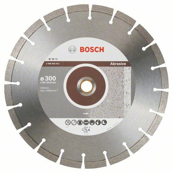 Diamantový dělicí kotouč Expert for Abrasive - 300 x 20,00+25,40 x 2,8 x 12 mm BOSCH