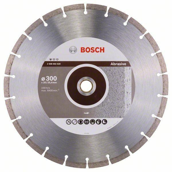 Diamantový dělicí kotouč Standard for Abrasive - 300 x 20,00+25,40 x 2,8 x 10 mm BOSCH