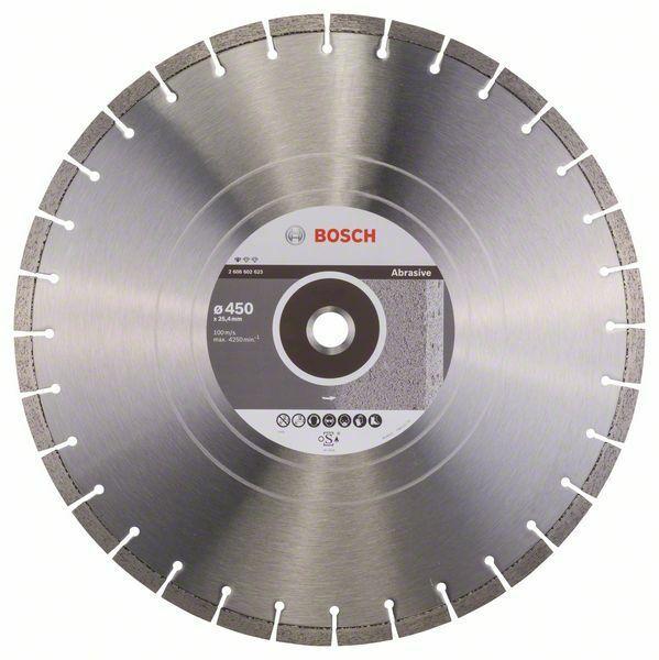 Diamantový dělicí kotouč Standard for Abrasive - 400; 450 x 25,40 x 3,6 x 10 mm BOSCH