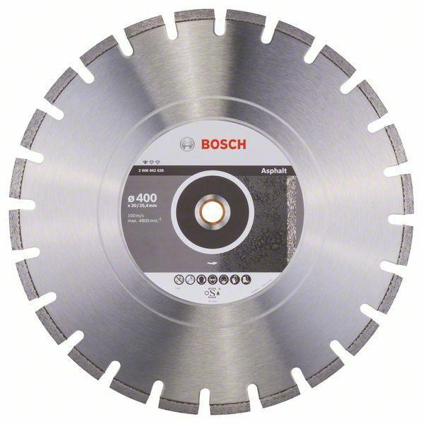 Diamantový dělicí kotouč Standard for Asphalt - 400 x 20/25,40 x 3,6 x 10 mm BOSCH