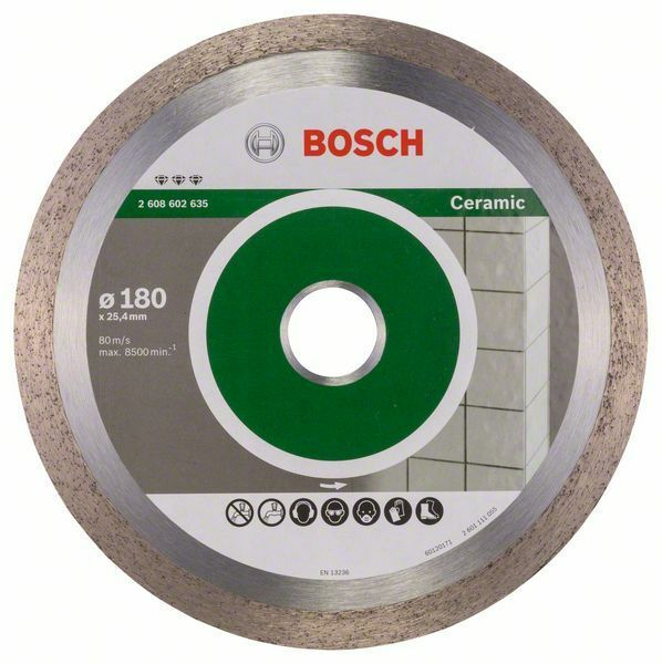 Diamantový dělicí kotouč Best for Ceramic - 180 x 25,40 x 2,2 x 10 mm BOSCH