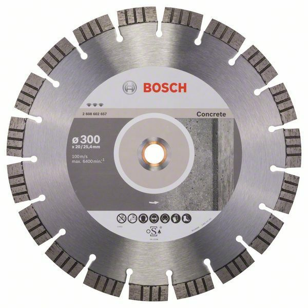 Diamantový dělicí kotouč Best for Concrete - 300 x 20,00+25,40 x 2,8 x 15 mm - 31651405816 BOSCH