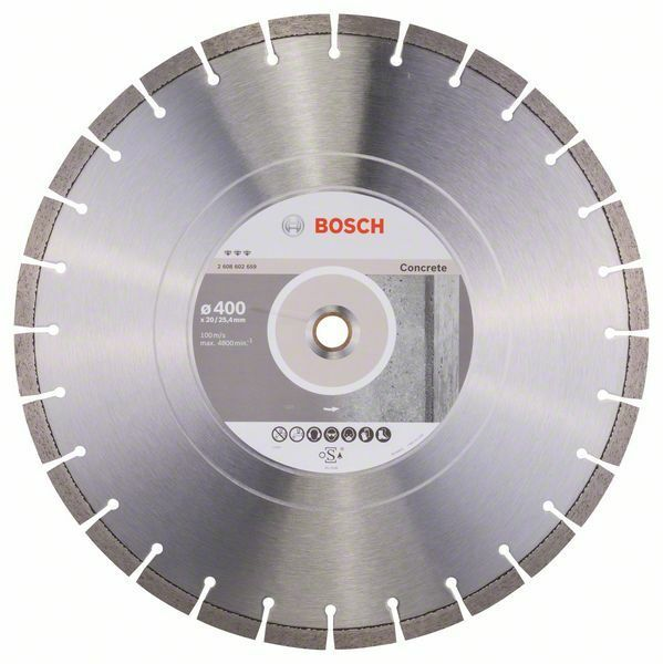 Diamantový dělicí kotouč Best for Concrete - 400 x 20,00+25,40 x 3,2 x 12 mm - 31651405816 BOSCH