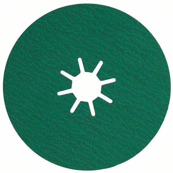Fíbrový brusný kotouč R584, Best for Inox; 115 mm, 22,23, 120 BOSCH