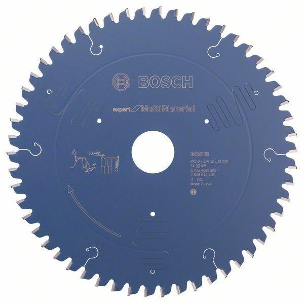 Pilový kotouč Expert for Multi Material - 210 x 30 x 2,4 mm, 54 - 3165140648172 BOSCH