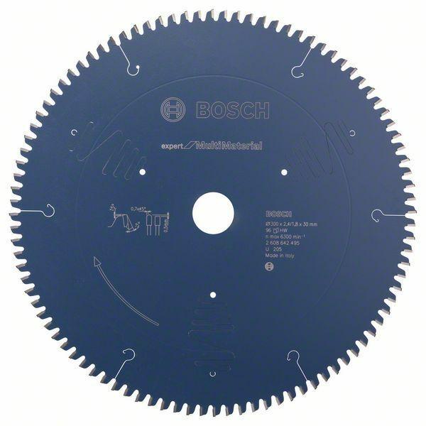Pilový kotouč Expert for Multi Material - 300 x 30 x 2,4 mm, 96 - 3165140648202 BOSCH