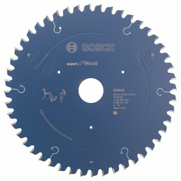 Pilový kotouč Expert for Wood - 210 x 30 x 2,4 mm, 48 - 3165140648219 BOSCH