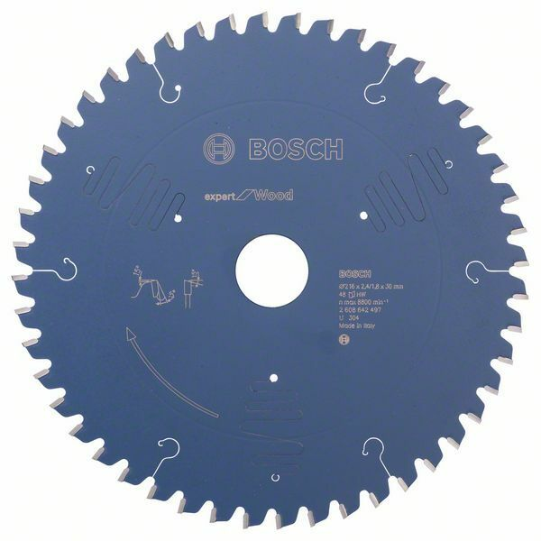 Pilový kotouč Expert for Wood - 216 x 30 x 2,4 mm, 48 - 3165140648226 BOSCH