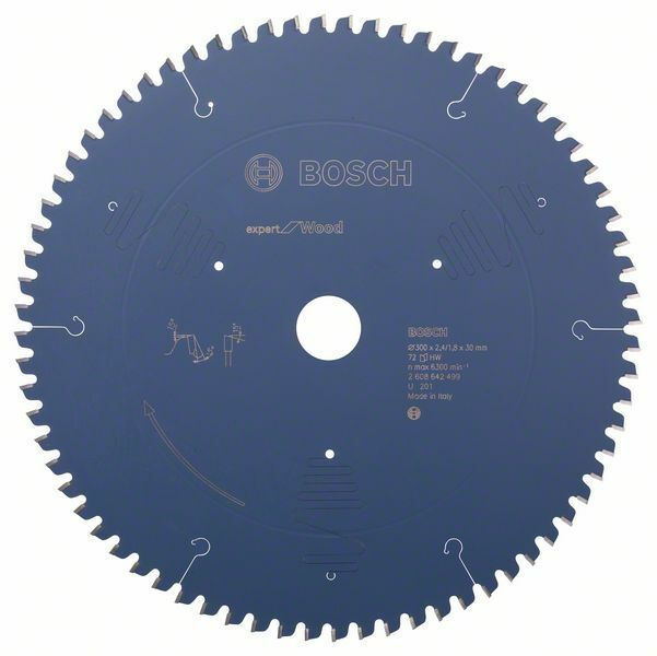 Pilový kotouč Expert for Wood - 300 x 30 x 2,4 mm, 72 BOSCH