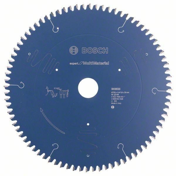 Pilový kotouč Expert for Multi Material - 254 x 30 x 2,4 mm, 80 - 3165140650106 BOSCH