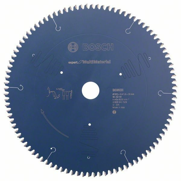 Pilový kotouč Expert for Multi Material - 305 x 30 x 2,4 mm, 96 - 3165140650113 BOSCH