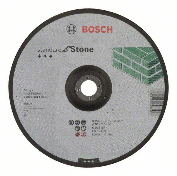 Dělicí kotouč profilovaný Standard for Stone - C 30 S BF, 230 mm, 22,23 mm, 3,0 mm - 31651 BOSCH