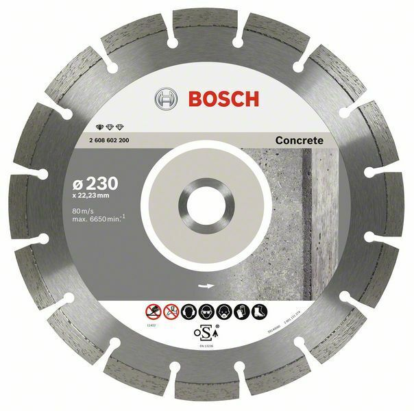 Diamantový dělicí kotouč Standard for Concrete Sada 10ks - 230 x 22,23 x 2,3 x 10 mm BOSCH