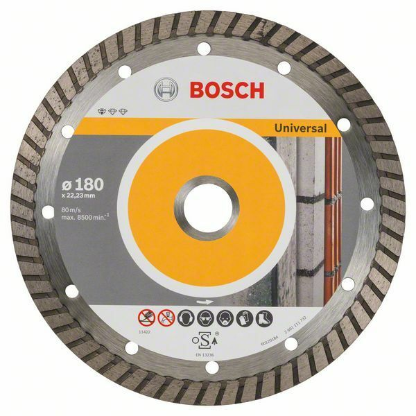 Diamantový dělicí kotouč Standard for Universal Turbo - 180 x 22,23 x 2,5 x 10 mm - 316514 BOSCH