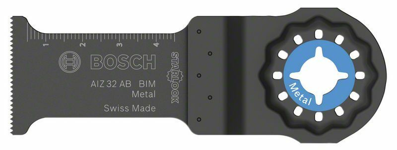 BIM ponorný pilový list AIZ 32 AB Metal - 32 x 50 mm - 3165140666015 BOSCH