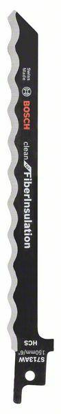 Fotografie Pilový list pro pily ocasky S 713 AW - Clean for Fiber Insulation - 3165140688178 BOSCH