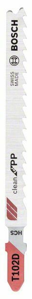 Pilový plátek do kmitací pily T 102 D - Clean for PP - 3165140691475 BOSCH