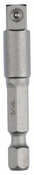 """Adaptér pro nástrčné nástavce - 1/4"""", 50 mm - 3165140704236 BOSCH"""