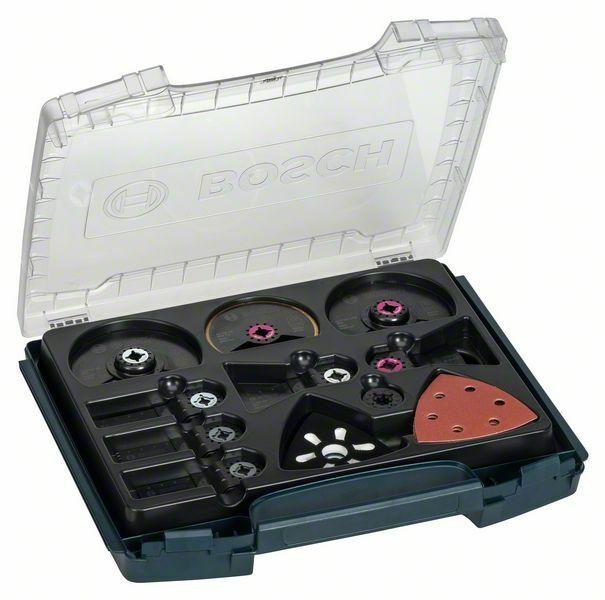 34dílná profesionální sada i-BOXX pro zařizování interiérů - ACZ 100 BB; ACZ 85 EIB; ACZ 1 BOSCH