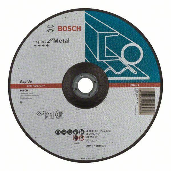Dělicí kotouč profilovaný Expert for Metal – Rapido - AS 46 T BF, 230 mm, 1,9 mm - 3165140 BOSCH
