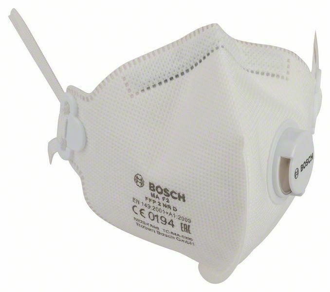 Ochranná maska proti jemnému prachu MA F2 - EN 149, FFP2 BOSCH