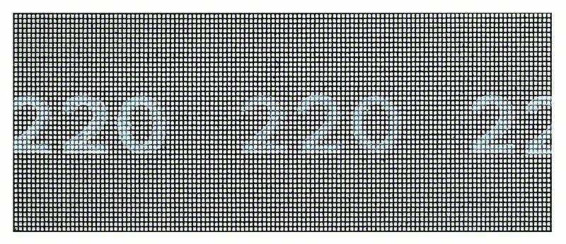 Brusná mřížka; 93 x 230 mm, 220 - 3165140714518 BOSCH