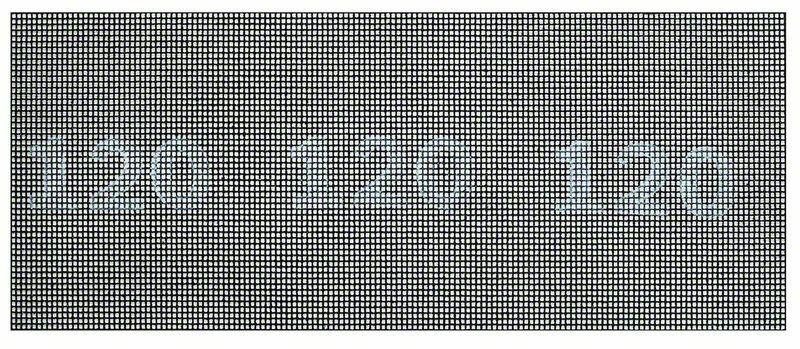 Brusná mřížka; 115 x 280 mm, 120 - 3165140714532 BOSCH