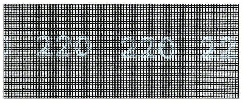Brusná mřížka; 115 x 280 mm, 220 - 3165140714549 BOSCH