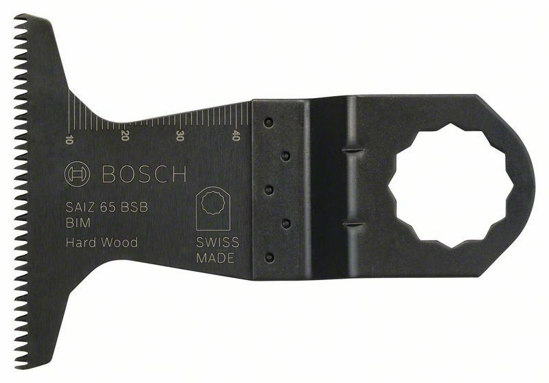 Bimetalový ponorný pilový list SAIZ 65 BSB Hard Wood - 40 x 65 mm - 3165140717625 BOSCH