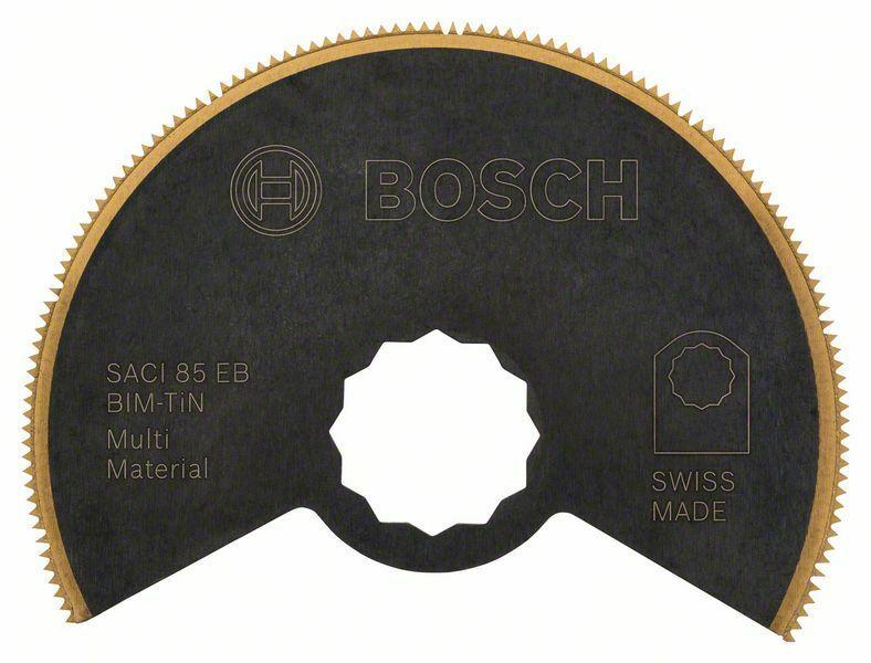 Bimetalový titan-nitridový segmentový pilový kotouč SACI 85 EB Multi Material - 85 mm - 31 BOSCH