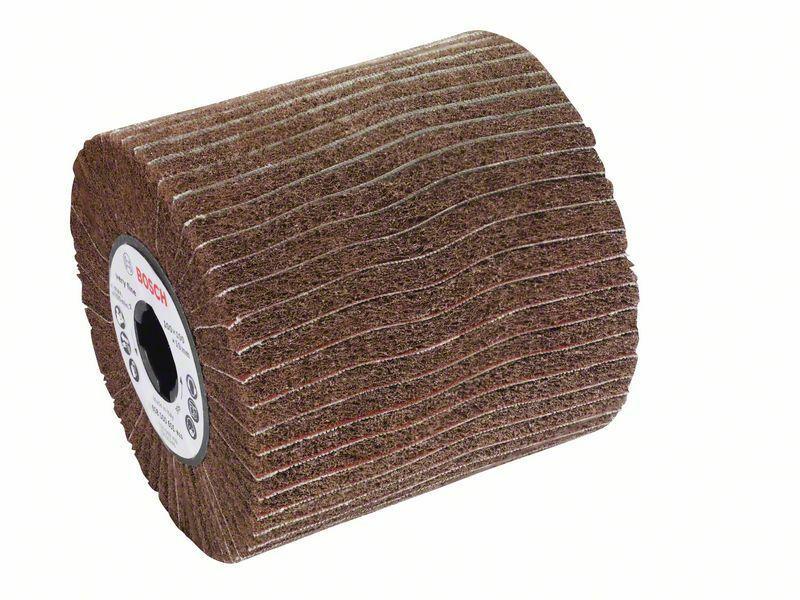 Lamelový brusný váleček s rounem; 19 mm, jemný, 100 mm, 100 mm - 3165140732871 BOSCH
