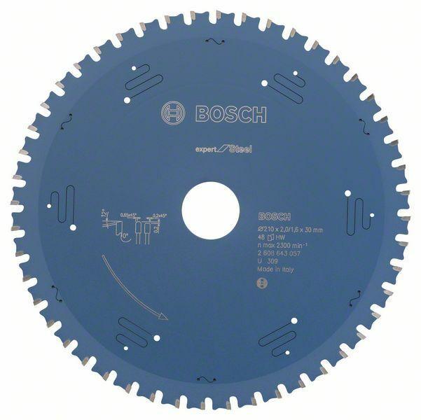 Pilový kotouč do okružních pil Expert for Steel - 210 x 30 x 2,2 mm, 48 - 3165140737708 BOSCH