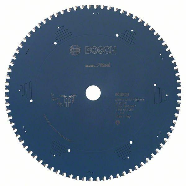 Pilový kotouč do okružních pil Expert for Steel - 305 x 25,4 x 2,2 mm, 80 BOSCH