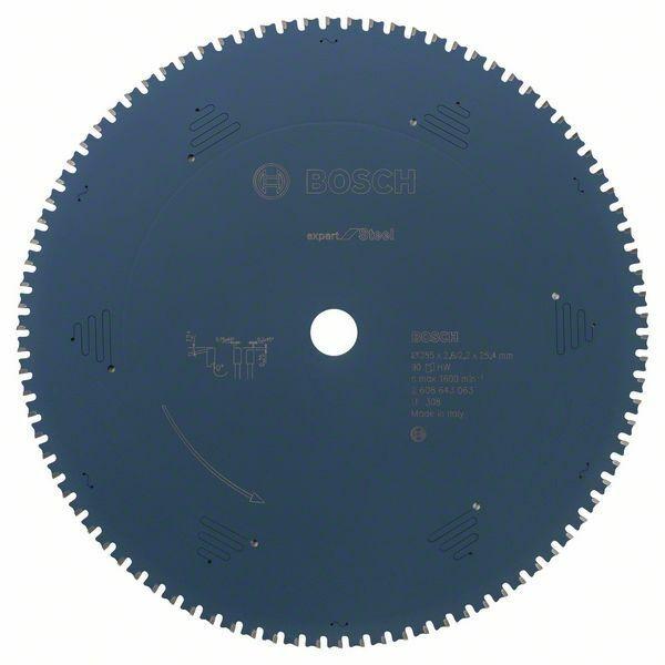 Pilový kotouč do okružních pil Expert for Steel - 355 x 25,4 x 2,2 mm, 90 BOSCH