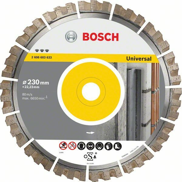 Diamantový dělicí kotouč Best for Universal - 400 x 20/25,40 x 3,3 x 15 mm BOSCH
