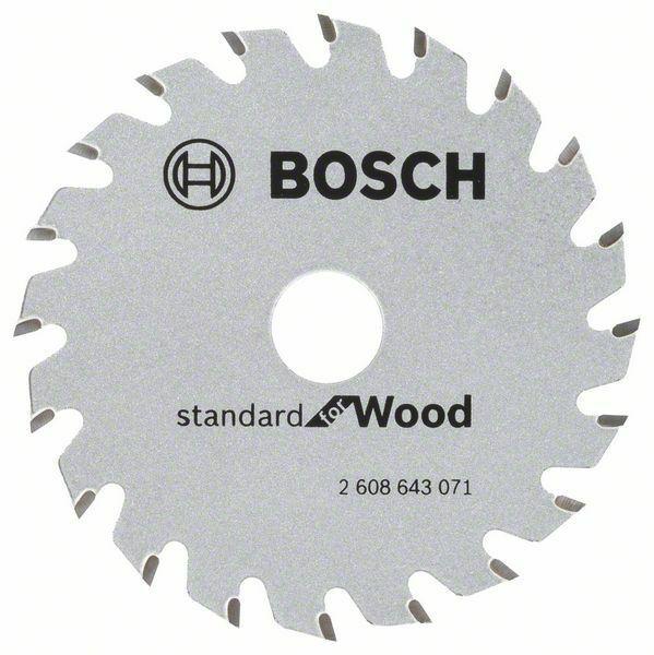 Pilový kotouč Standard for Wood 85x15x1,1/0.7mm 20z pro GKS 10.8 V-LI - 3165140754279 BOSCH