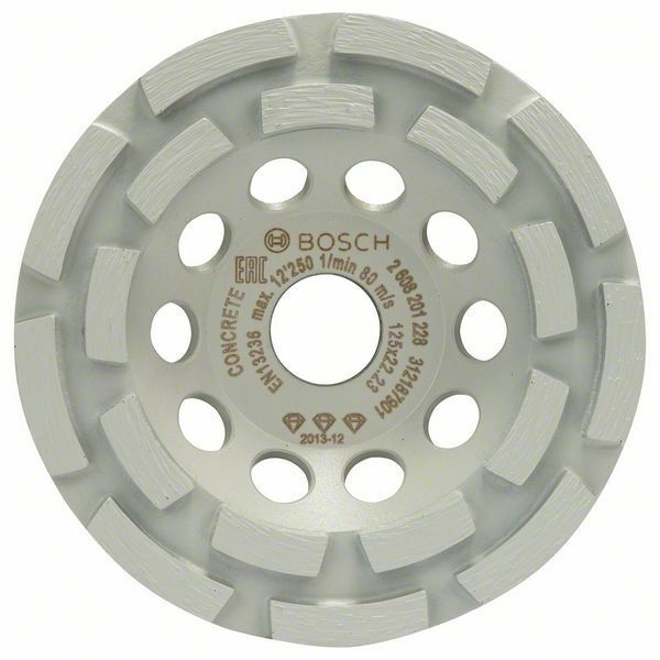 Diamantový hrncový kotouč Best for Concrete; 125 x 22,23 x 4,5 mm - 3165140772150 BOSCH