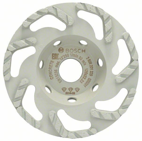 Diamantový hrncový kotouč Best for Concrete; 125 x 22,23 x 4,5 mm - 3165140772167 BOSCH