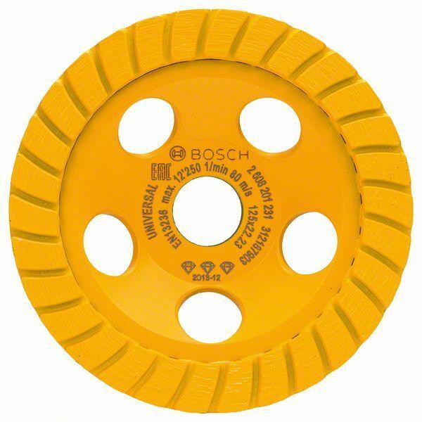 Diamantový hrncový kotouč Best for Universal Turbo; 125 x 22,23 x 5 mm - 3165140772181 BOSCH
